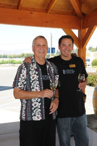 Clay with Winemaker Coby Parker-Garcia